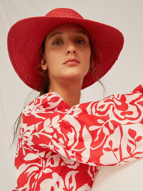 Caractere Accessori > Cappelli e guanti Rosso - Caractère Cappello colorato Donna Rosso