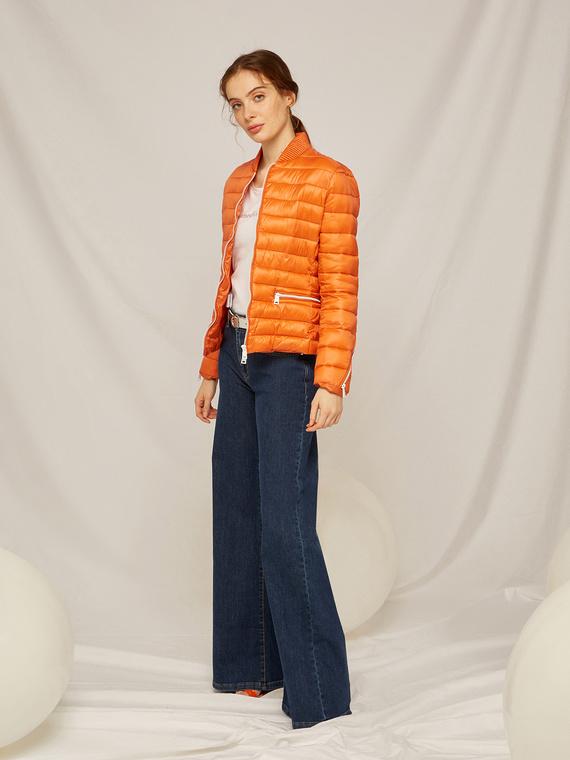 Caractere Cappotti e giacche > Cappotti e giubbotti Arancione - Caractère Piumino light trapuntato Donna Arancione