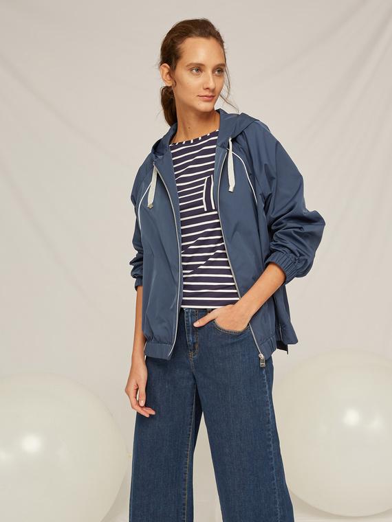 Caractere Cappotti e giacche > Cappotti e giubbotti Blu - Caractère Parka corto Donna Blu