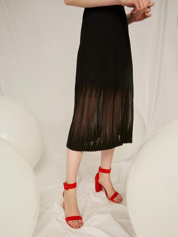 Caractere Accessori > Calzature Rosso - Caractère Sandali in pelle Donna Rosso