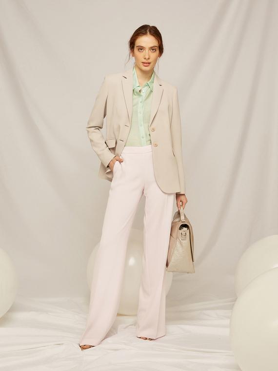 Caractere Abbigliamento > Pantaloni e jeans Rosa - Caractère Pantaloni palazzo tailor made Donna Rosa
