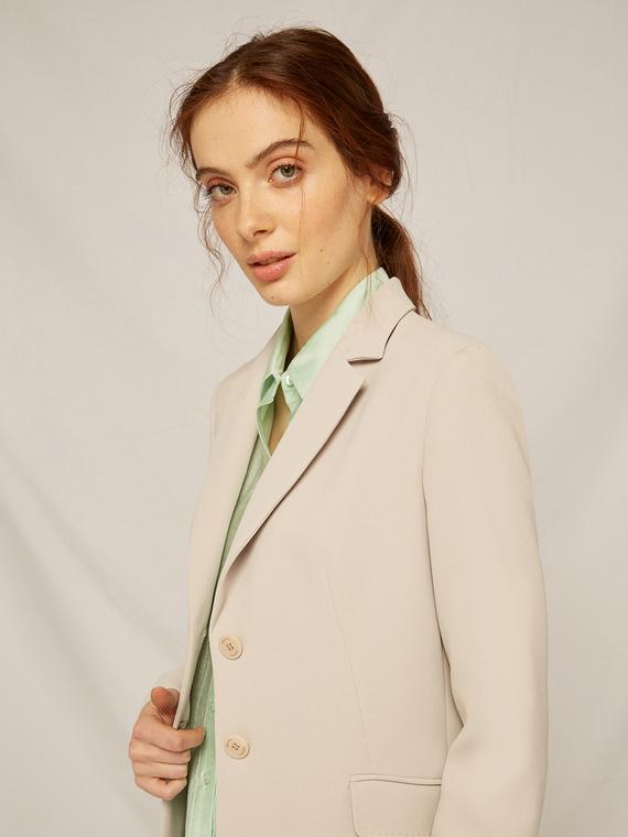 Caractere Cappotti e giacche > Giacche e blazer Beige - Caractère Giacca blazer tailor made Donna Beige