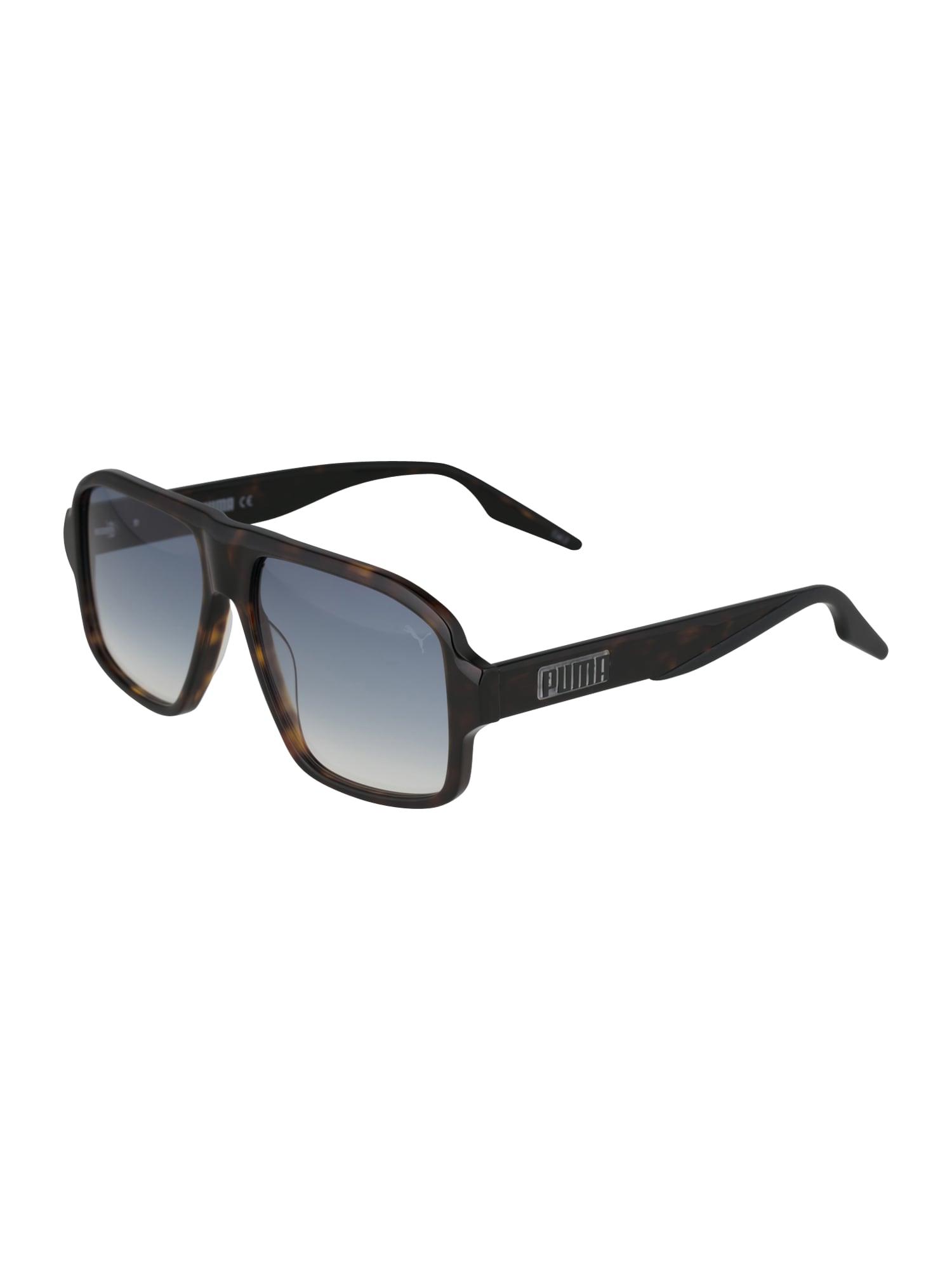 PUMA Occhiali da sole  blu / marrone male shop the look