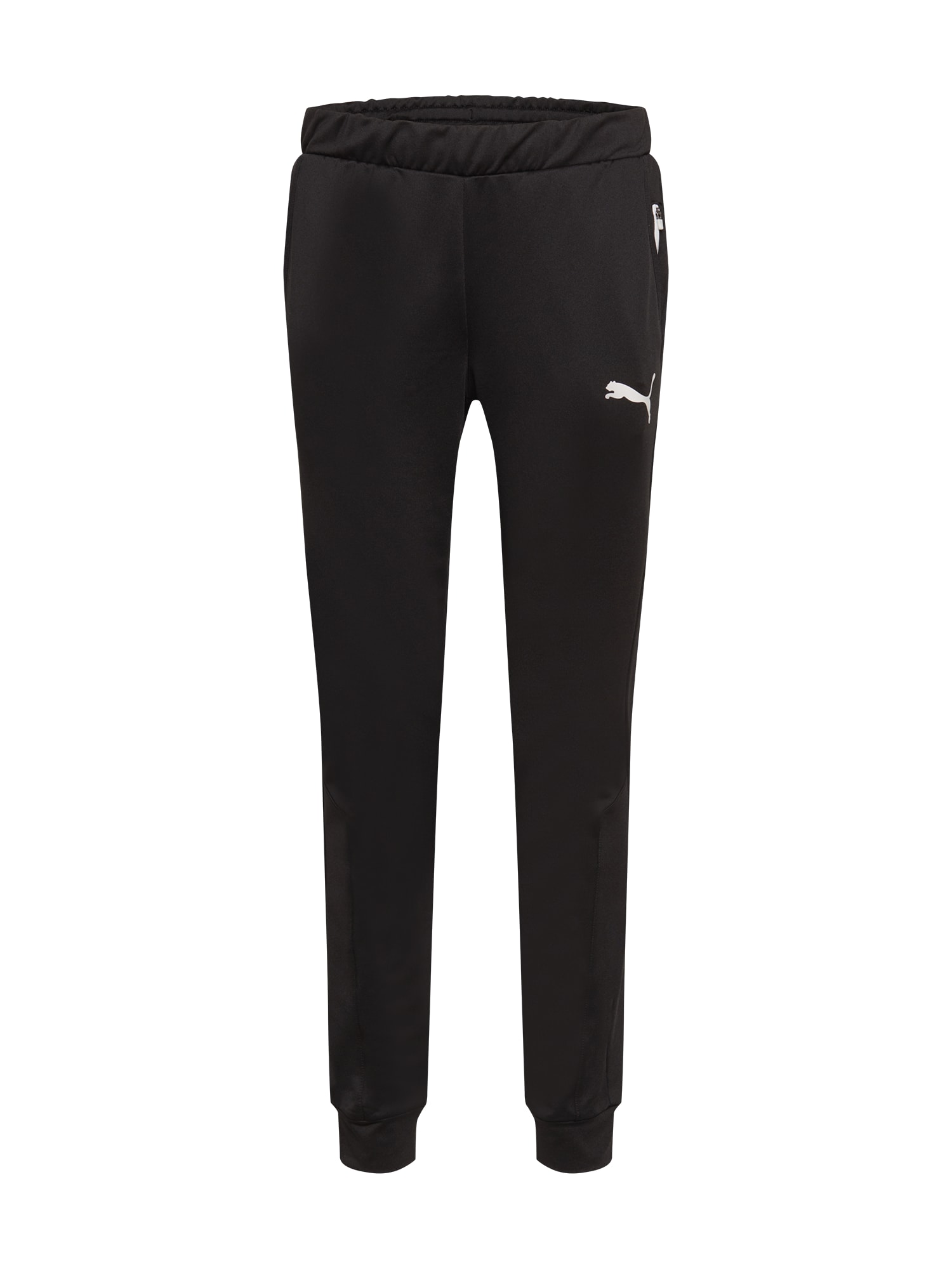 PUMA Pantaloni sportivi  nero / bianco male shop the look