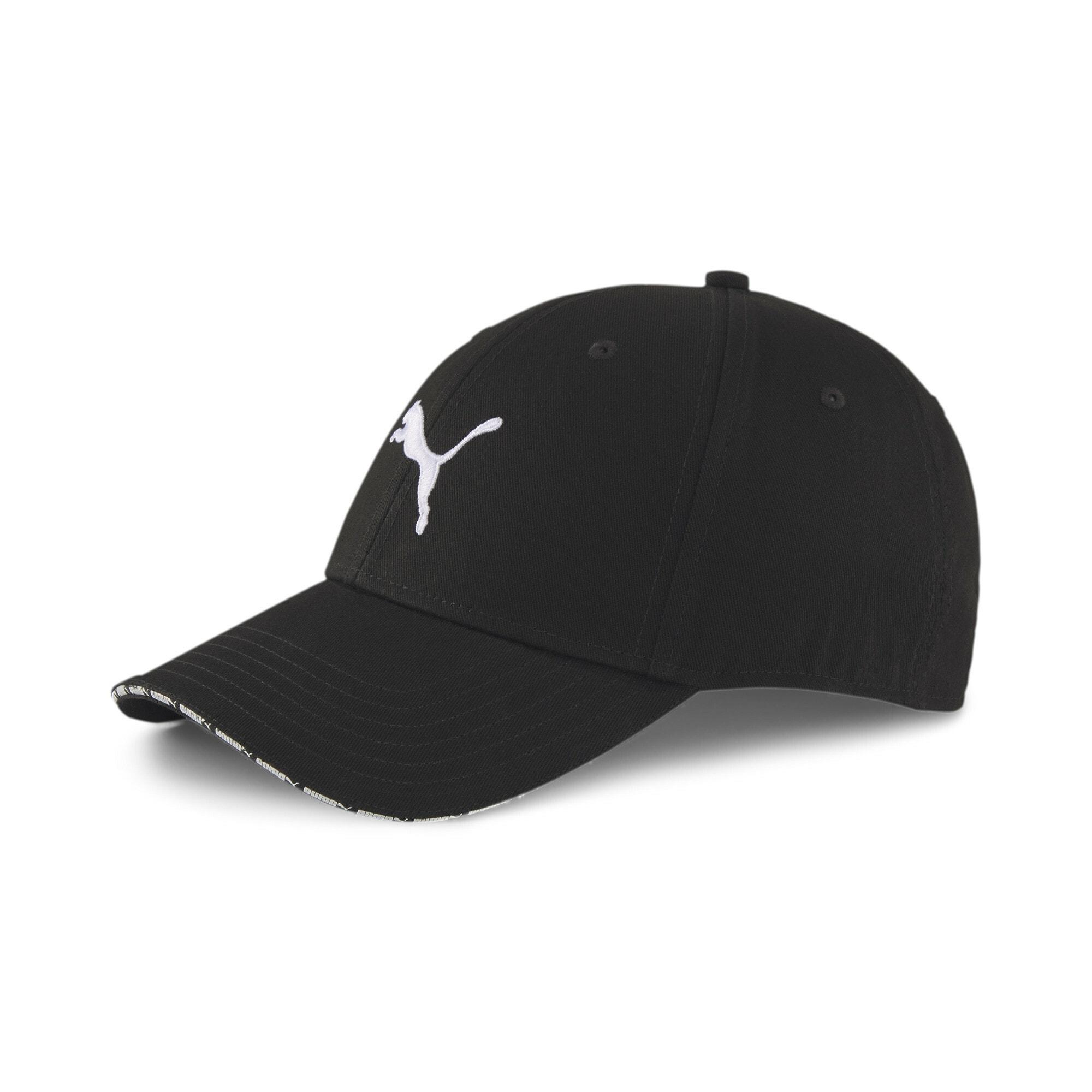 PUMA Cappello da baseball sportivo  nero / bianco male shop the look