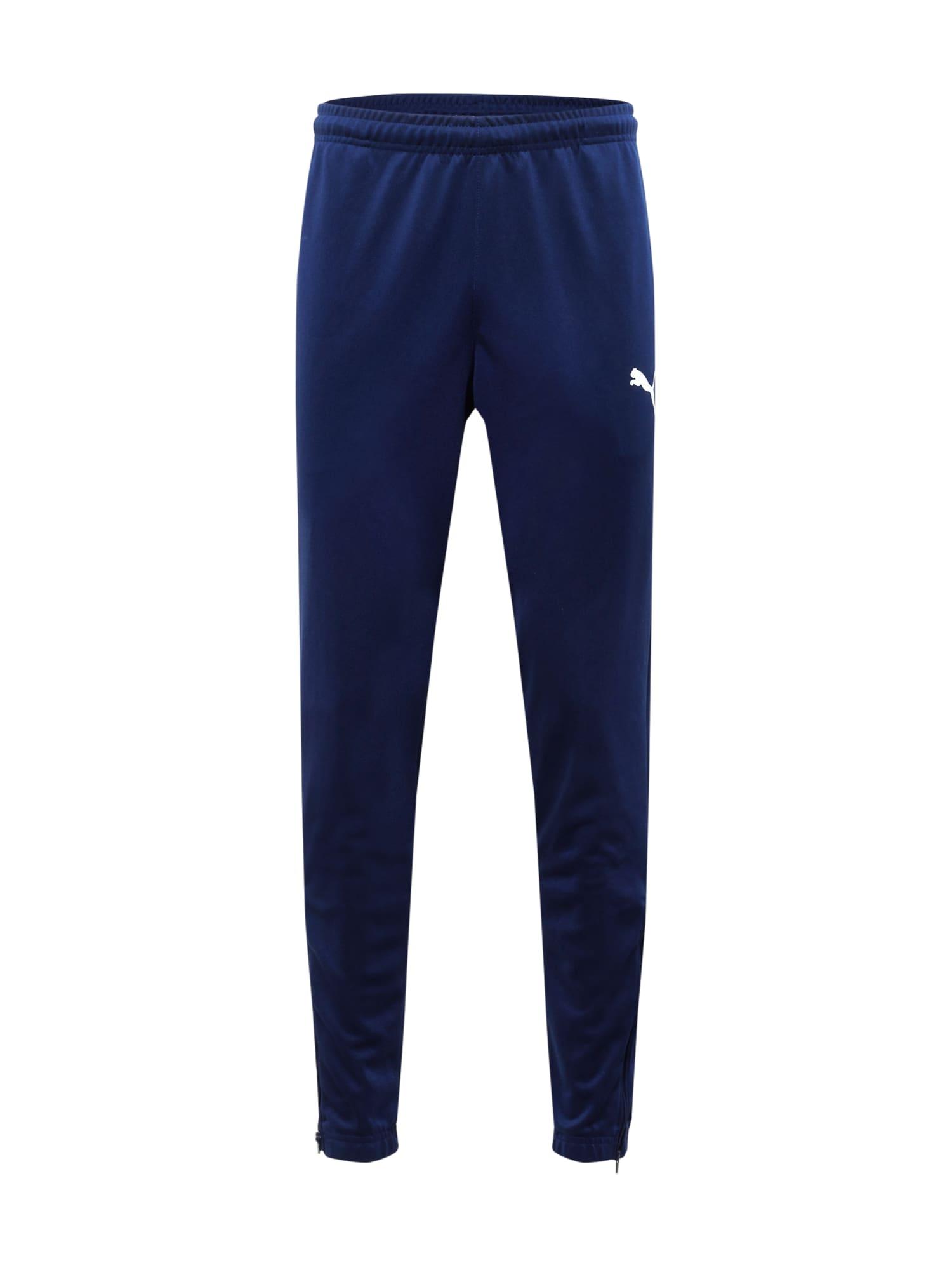 PUMA Pantaloni sportivi  blu scuro / bianco male shop the look