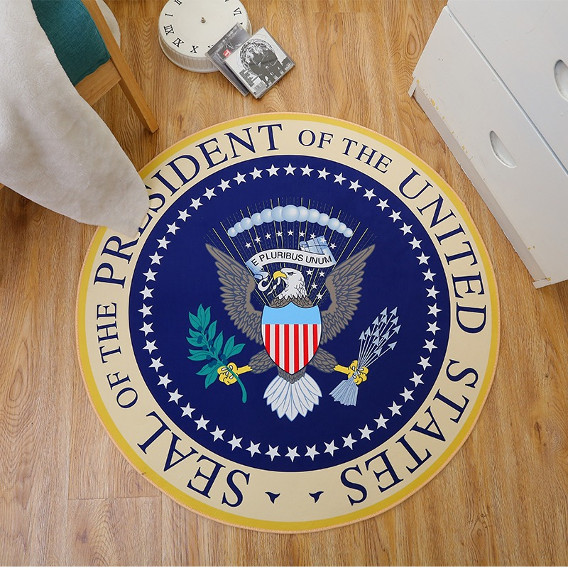 Donald Trump Seal of the President of the United States Floor Rug