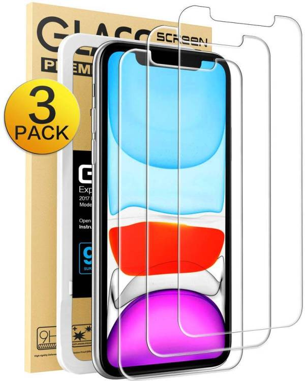 iPhone XR Screen Protector, iPhone 11 Screen Protector,Tempered Glass Film for Apple iPhone