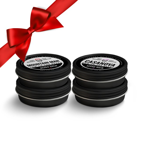 Beard Balm Holiday Gift Set