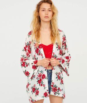 Short Kimono front