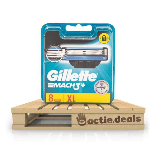 Gillette Mach3 scheermesjes (XL pack 8 stuks)