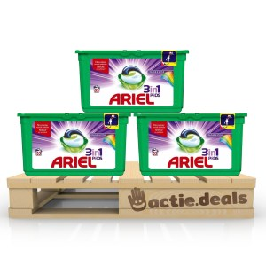 Ariel 3-in-1 Pods Colour & Style 3x 35 stuks