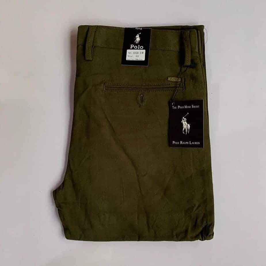 Polo Army Khaki Trouser