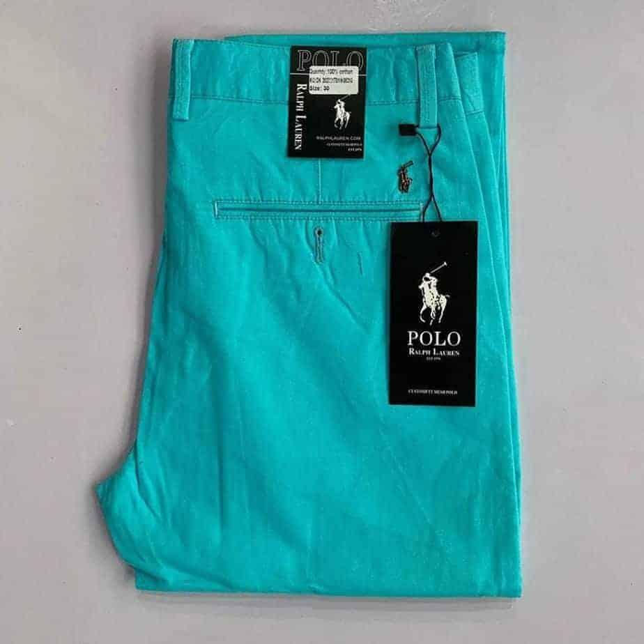 Cyan Polo Khaki Trouser