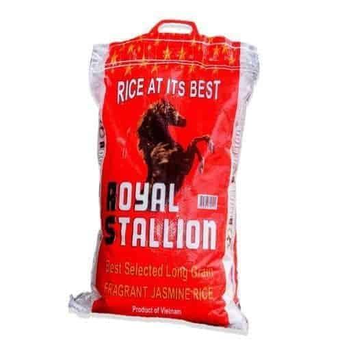Royal Stallion Jasmine Long Grain Rice – 5kg