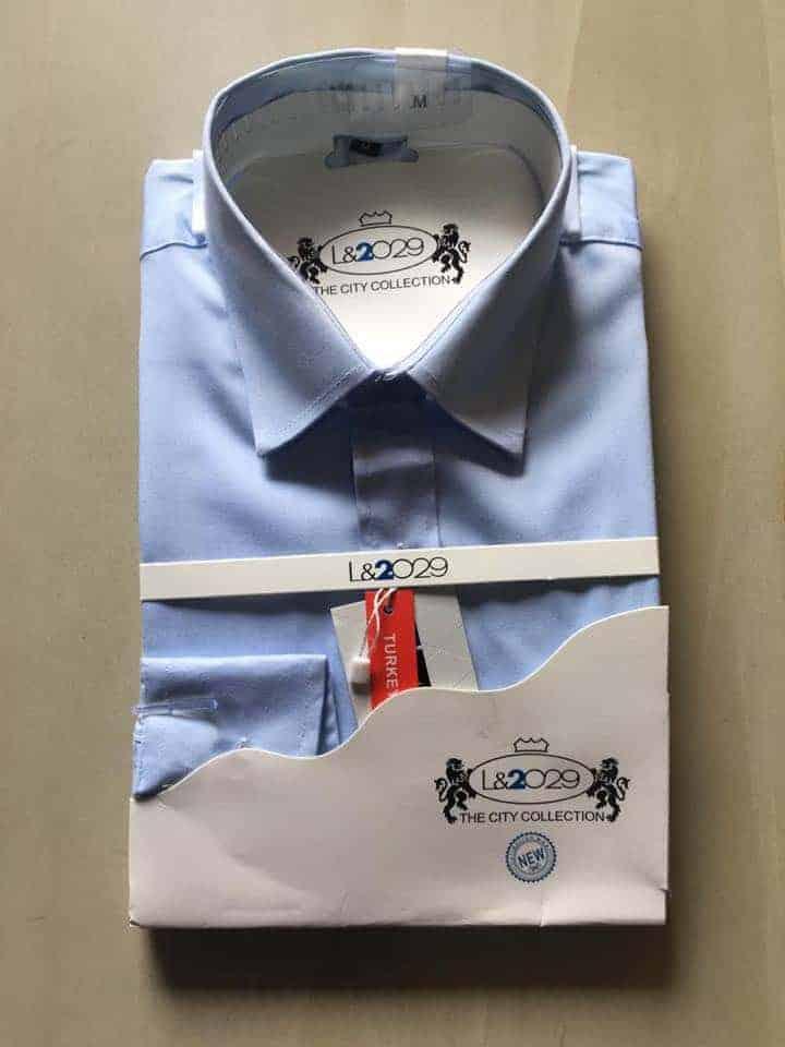 City collection-L&2029 shirt .Thistle colour