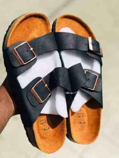 Birkenstocks Double Strap Black