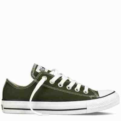 army green converse all star