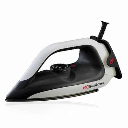 Binatone DI-1255 Dry Iron – 1200 Watt White/Black