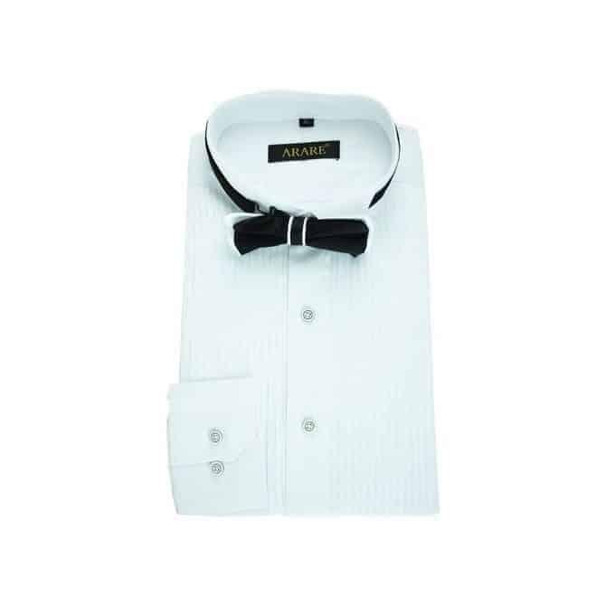 Full Collar Pleated Shirt