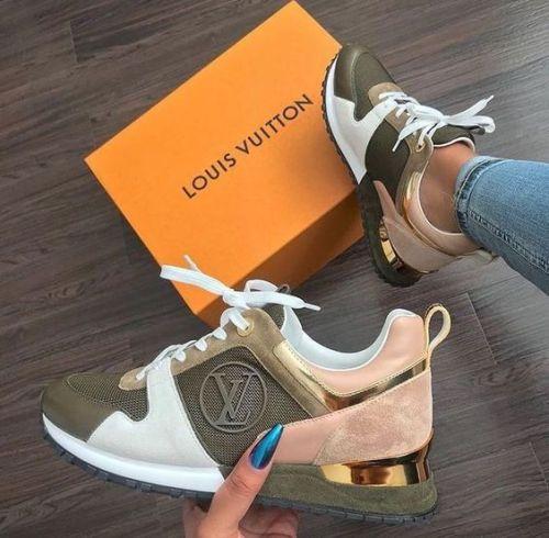 Louis Vuitton Run Away Sneaker Green