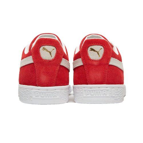 Red Puma Suede Classic