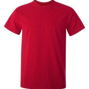 Wine Gildan Plain T-Shirt