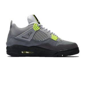 Air Jordan 4 Neon Cool Grey