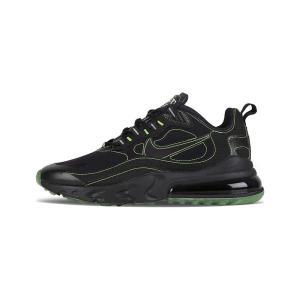 Nike Air Max 270 React SP Black/Flouresent Green