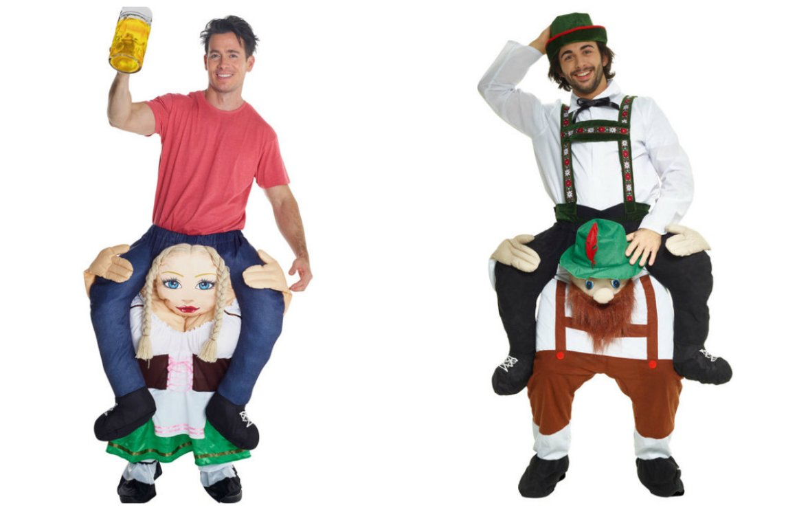 0592a478e413 carry me kostume oktoberfest kostume alternativt oktoberfest kostume piggy  back oktoberfest udklædning bær mig kostume oktoberfest