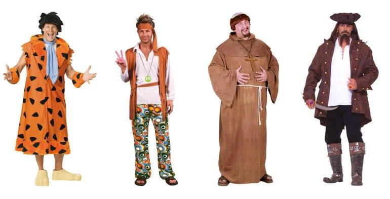 plus size kostume herrer plus size kostume mænd plus size herrekostume stort kostume til mænd munk plus size pirat plus size kostume fred flintstone plus size kostume - Plus size kostumer