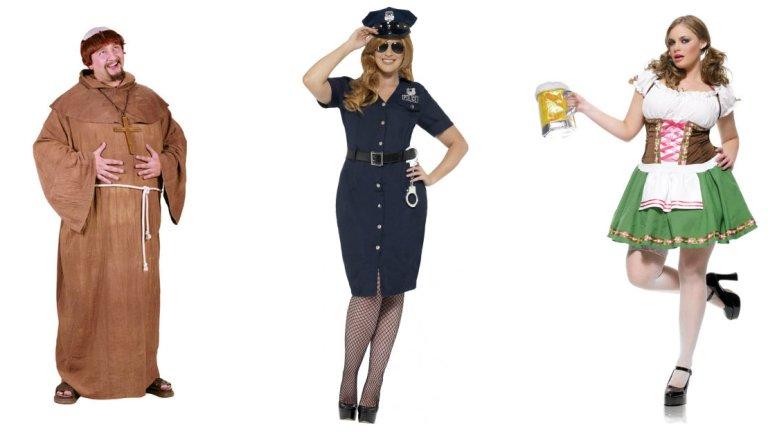 plus size kostume temafest udklædning XXXL stor størrelse kostume til halloween plus size kostume