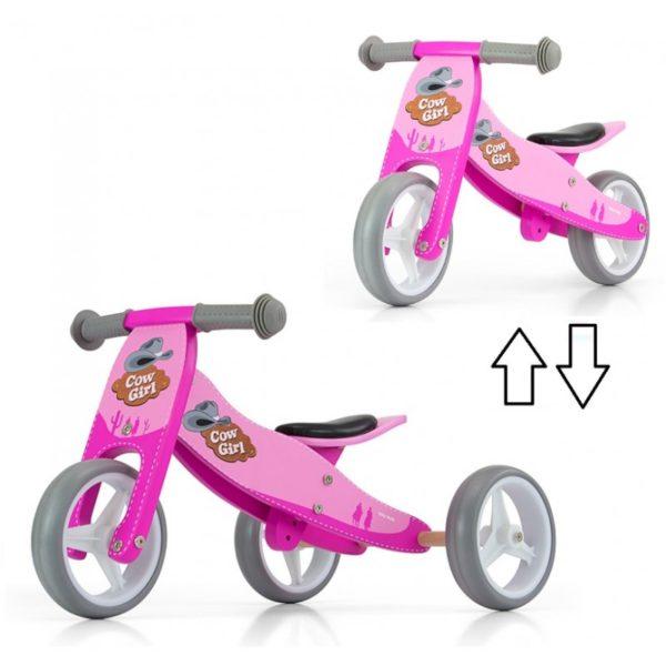 2i1 gåcykel i træ trike lobecykel 600x600 - Gåcykel - cykel til 1 årig