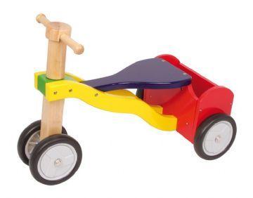 gåcykel med lad i træ nils - Gåcykel - cykel til 1 årig