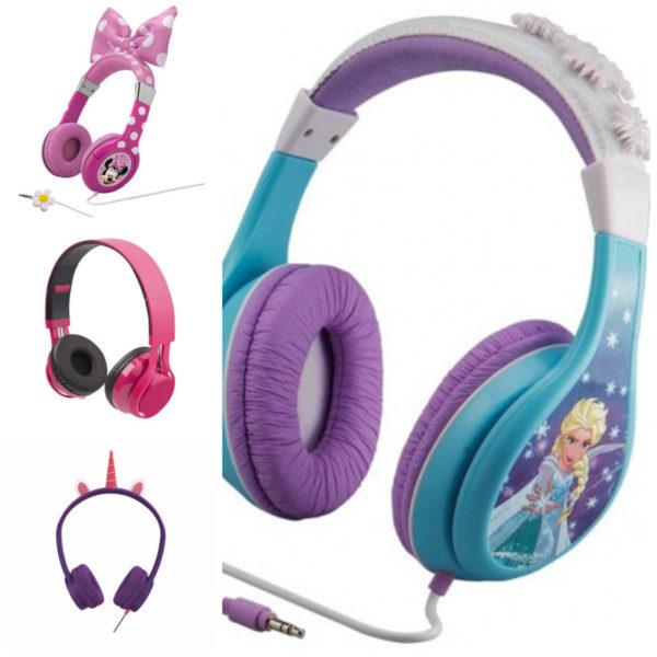 høretelefoner til børn piger headset til børn øre høretelefoner til børn lyserøde høretelefoner til børn
