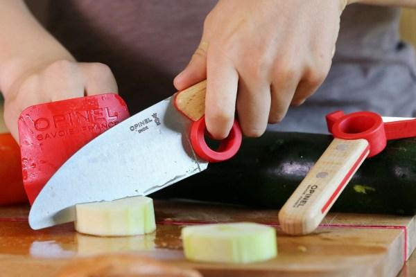 Børnekniv til kommende kokke