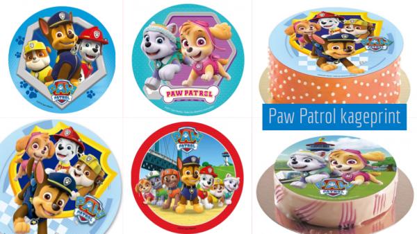 Nem Paw Patrol kage til Paw Patrol fødselsdag