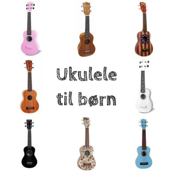 ukulele til børn ukulelene nybegynder børnevenlig ukulele akkustisk ukulele sporan ukulele til børn