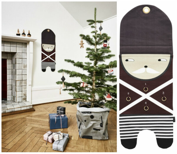oyoy adventskalender ophæng advent pakkekalender 4 pakker vægophæng til adventspakker jul genbrug juletradition 600x522 - Pakkekalender ophæng