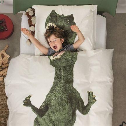 snurk dinosaurus sengetøj dino sengetøj gave til dino fans dino legetøj dinosaurus legetøj gave til dino fan juniordyne dinosaurus sengetøj dinosaurus sengetøj til voksendyne - Vild med dinosaurus?
