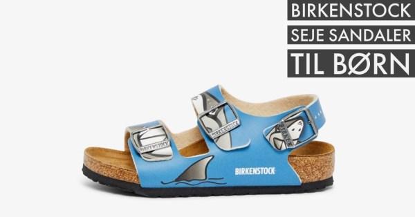 blå birkenstock sandaler til drenge ocean birkenstock dreng