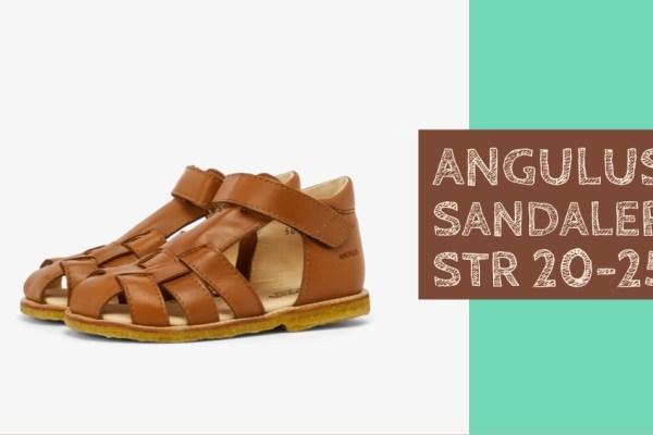 Brune sandaler til børn
