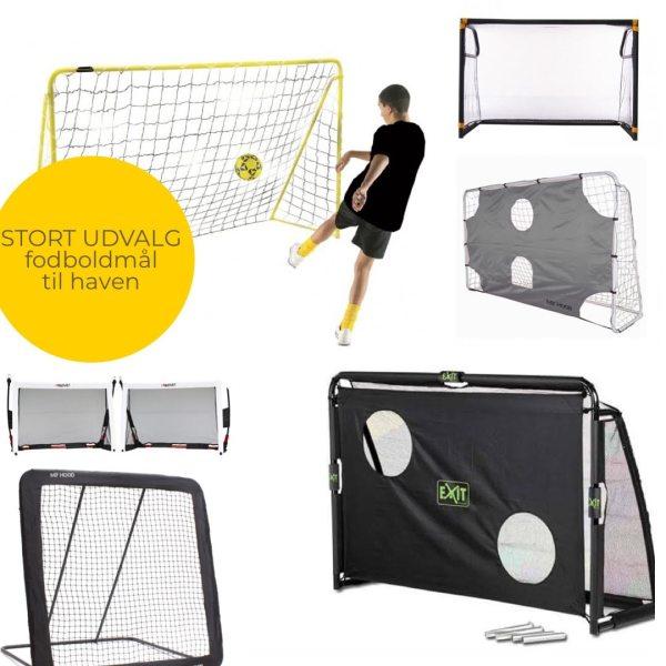 fodboldmål til haven udeleg have fodboldmål træning fodbold hjemmetræning guide til køb af fodboldmål