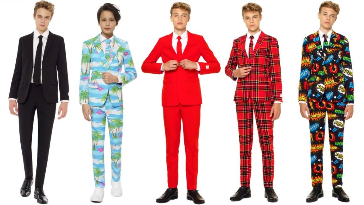 teen jakkesæt sidste skoledag kostume sidste skoledag udklædning drenge