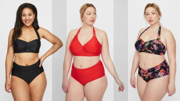 bikini plussize bikini stor størrelse bikini stor barm bikini rød plussize sort bikini højtaljer bikini str 46 bikini str 48 bikini str 50 bikini str 52