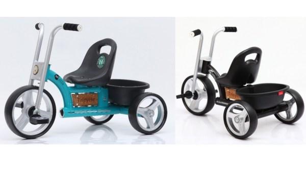 trehjulet cykel med lad retro trehulet cykel