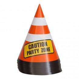 advarselstrekante hatte festhatte byggeplads børnefødselsdag