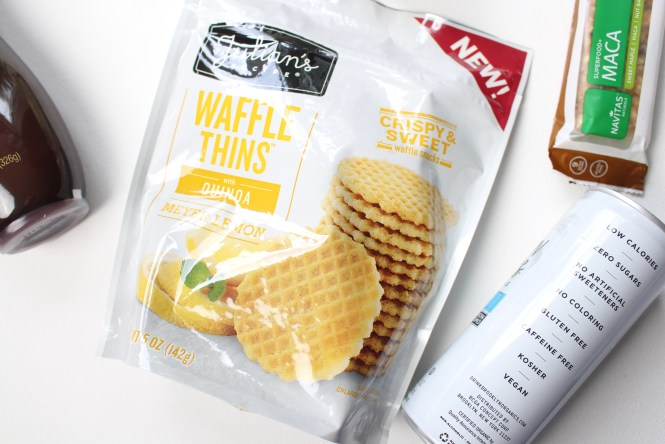 june 2017 Degustabox subscription box blogger review shop with kendallyn julian's waffle thins meyer lemon