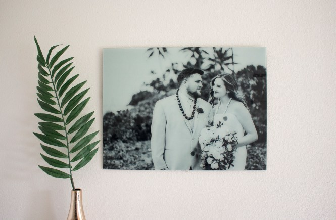 Shop with Kendallyn Blogger Product Review Get Fracture Glass Black and white wedding photo, printing company