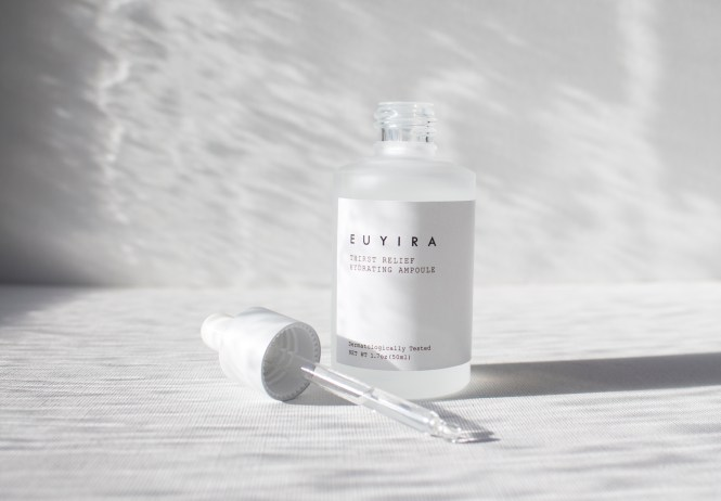 Shop with Kendallyn, Blog Product Review, EUYIRA Korean Skin Care, Thirsty Relief Hydrating Ampuole